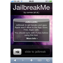 Jailbreak your iPhone, iPad, iPod Touch with JailbreakMe