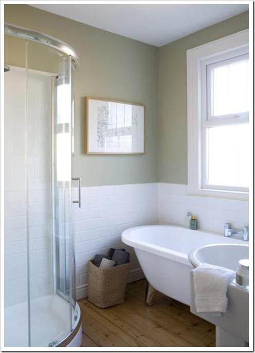 Shabby and charme un bagno nei toni del grigio - Bagno shabby immagini ...