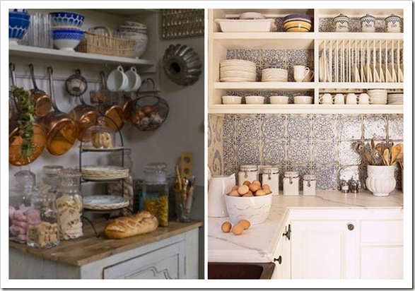 Shabby and Charme: Mensole in cucina