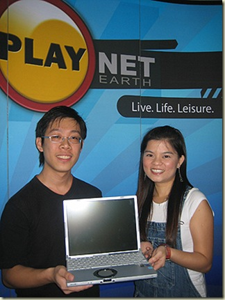 Panasonic laptop for top prize