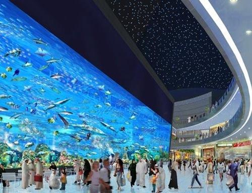 Aquário Dubai no Dubai Mall