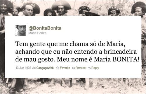 Maria Bonita - Coleção de tuitadas históricas
