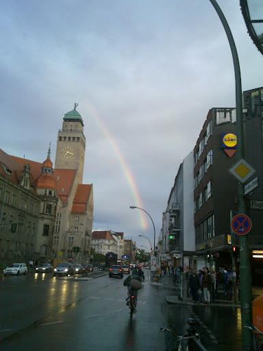 Regenbogen in Neukölln