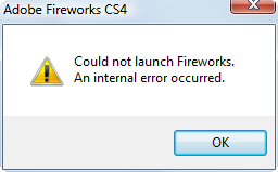 download Adobe CS4 Clean Script fix Fireworks error