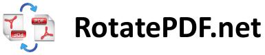 Rotate PDF - besplatni online servis