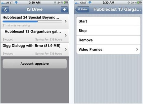 Download IS Drive Torrent aplikacije za iPhone i iPod Touch