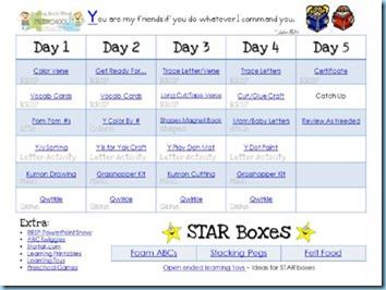 Raising Rock Stars Preschool ~ Lesson Planning Sheets - 1+1+1=1