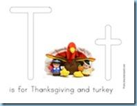 Thanksgiving Preschool Pack Play Doh Mat