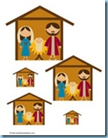 Nativity Preschool Pack Sizes