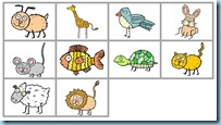 Ordinal Numbers animals