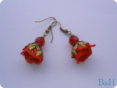 Pendientes Rositas