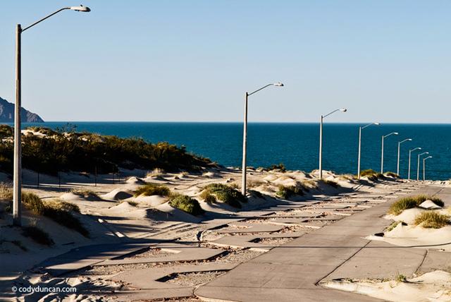 Abandoned coastal development, San Felipe, Baja California, Mexico, 2009. Cody Duncan
