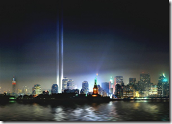 NY Tribute With Lights