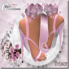 tresor heel pink
