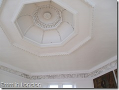 Ceiling detail of Sir Christopher Wren's Octagon Room