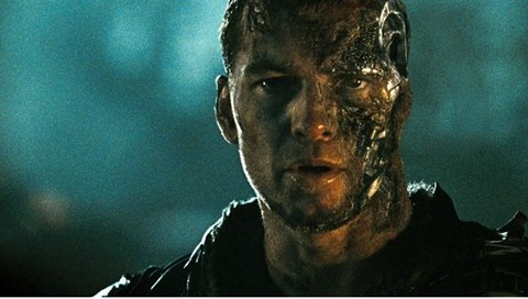 Sam Worthington is even hotter as Marcus Wright