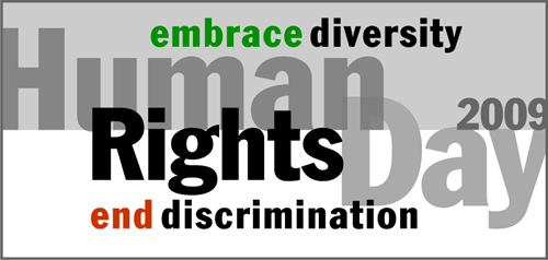 Human Rights Day 2009 End Discrimination