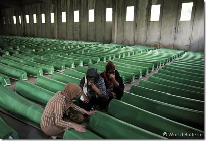 © World Bulletin / Srebrenica genocide