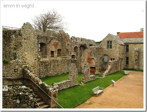 Carisbrooke Castle - Careys Mansion