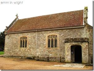 Carisbrooke Castle - Chapel of St Nicholas