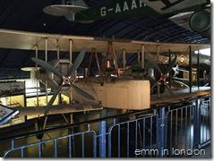 Vickers Vimy biplane, 1919