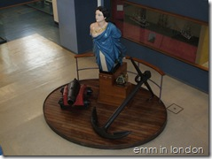 Figurehead of HMS Northstar