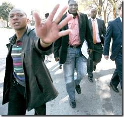 Mzilikazi wa Afrika arrest