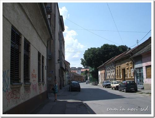 Masarikova Street, Novi Sad