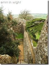 Wall Walk Carisbrooke Castle