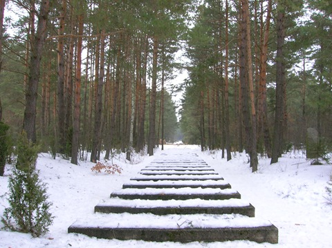 Treblinka - Rail tracks