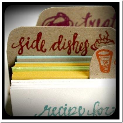 Recipe Dividers