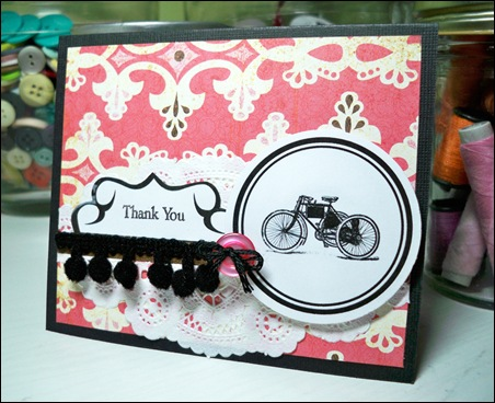 Diana-Bicycle Card