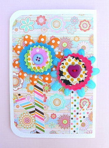 כרטיס פרחים