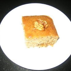 Greek Honey Walnut Cake