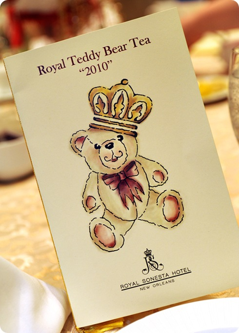 Royal Teddy Bear Tea