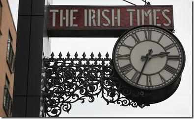 The Irish Times Clock