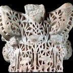 This capital probably came from the splendid Umayyad royal residence city of Madinat al-Zahra, near Crdoba, Spain, which was founded in 936. The classical tradition so important in Umayyad Syrian art is evident here. This is not surprising in light of the Syrian roots of this caliphal house (7111031), which arose in Spain after the Umayyad dynasty was replaced and almost extinguished by the new cAbbasid rulers centered in Baghdad.