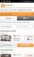 Screenshot of HOTEL INFO - 290,000 hotels