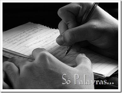 mao escrevendo