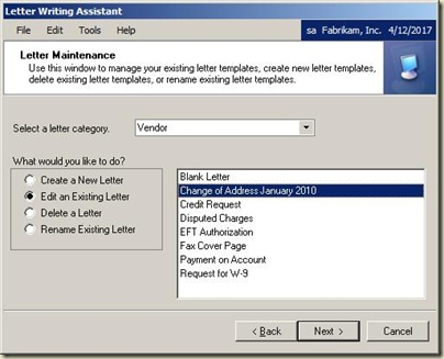 Creating custom word templates using the letter writing assistant word will then open with a blank document or the existing document you identified spiritdancerdesigns Images
