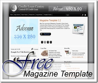 free magazine template R.1.4