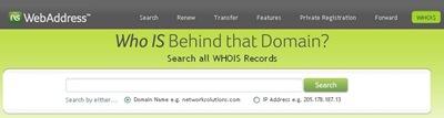 Whois: Conocer datos de contacto de un dominio
