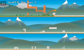 Screenshot of Tap 'n' Crash