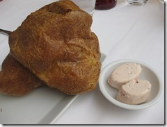 Rotunda at Neiman Marcus - Popover with strawberry butter