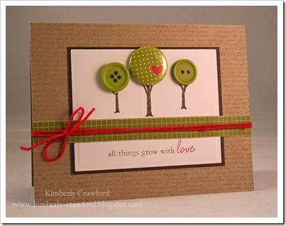 Trees grow with love
