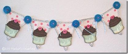 Canvas Cupcake Banner