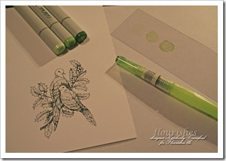 Happy Holly-days Copic Coloring Supplies