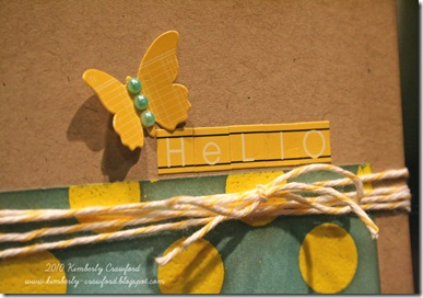 Hello Resist Embossing Twist Butterfly CU