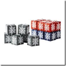 Snowflake Boxes IKEA