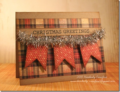 Pennants Christmas Greetings
